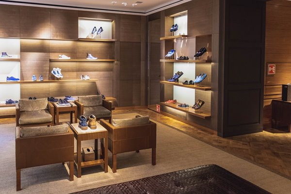 Picture of shoe showroom