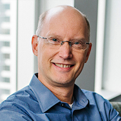 Photo of John Quist, Senior Vice President of Operations at Impinj